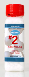 #2 Hylands Calc phos (Calcarea phosphorica)