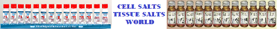Cell Salts Tissue Salts World Home